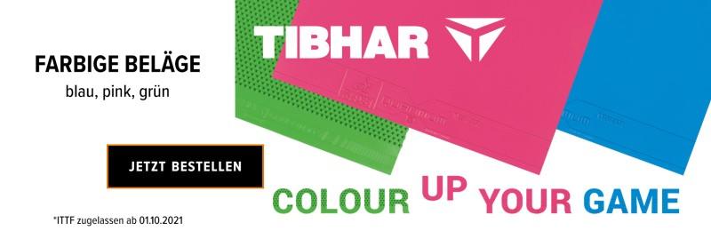 Tibhar farbige Beläge